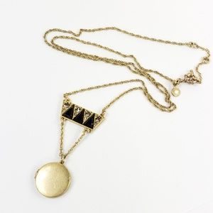 J. Crew Jewelry - J. Crew Necklace Art Deco Pendant
